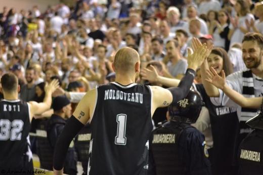 Vlad Moldoveanu în tricoul lui U-BT Cluj
