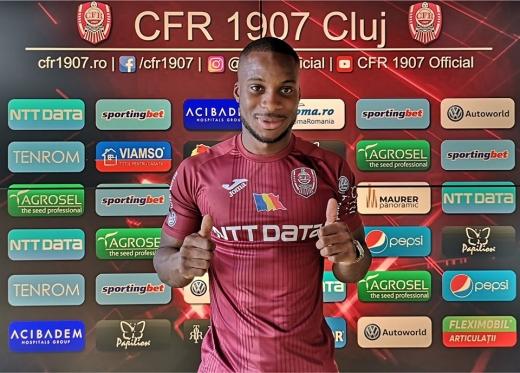 CFR Cluj l-a prezentat oficial pe Yacouba Sylla