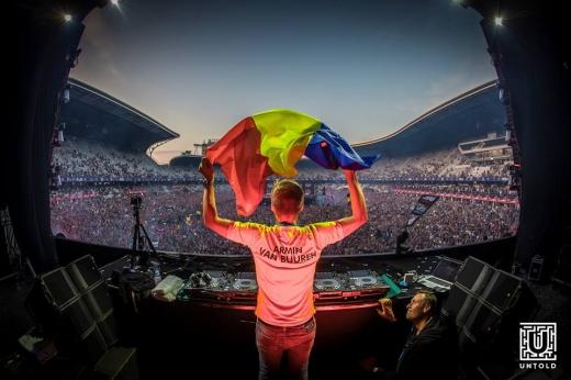 Armin van Buuren a compus imnul oficial UNTOLD 2019! Olandezul se pregătește de CEL MAI LUNG SHOW din cariera sa