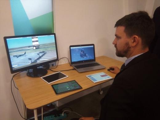 Clujenii revoluționează instruirea controlorilor de trafic aerian și oferă primul simulator românesc!