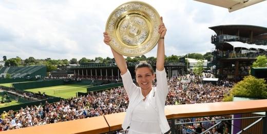 Pentru mama! Simona Halep, mesaj emoționant după triumful istoric de la Wimbledon, sursă foto Facebook Wimbledon