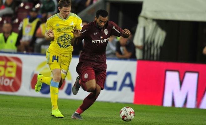 Billel Omrani la meciul cu FC Astana