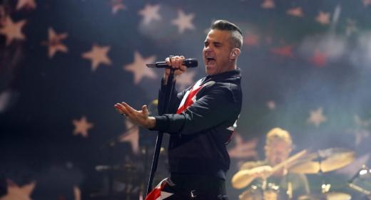 """Mesajul lui Robbie Williams pentru fanii UNTOLD: """"Va fi show-ul vieții voastre!"""""""