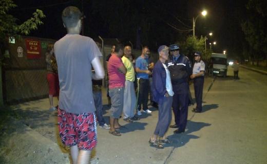 Acțiune cu efective mărite a polițiștilor clujeni în Someșeni, amenzi pentru gălăgie, foto: arhivă