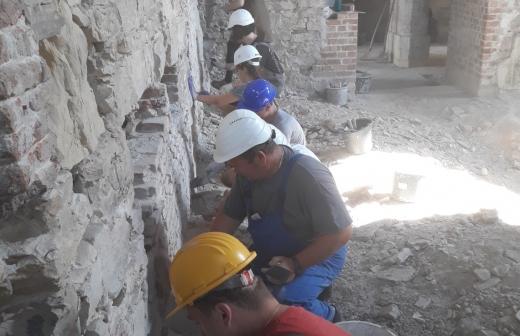 Electric Castle után, restaurálási tábor a bonchidai Bánffy-kastélyban