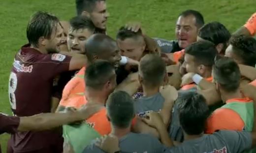 """Shalom, CFR Cluj! """"Feroviarii"""" o răpun pe Maccabi Tel Aviv, Celtic Glasgow vine în Gruia!, sursă foto: captură Digi Sport 1"""