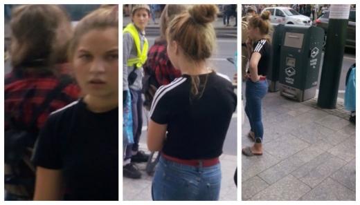 Două hoațe adolescente, cunoscute de tot orașul, TERORIZEAZĂ în continuare clujenii!