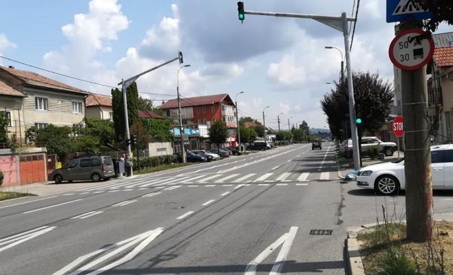 Semafoare cu buton la trecerile de pietoni din Cluj-Napoca