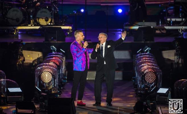 MAGISTRAL! Robbie Williams, recital de zile mari la UNTOLD pe un stadion arhiplin VIDEO