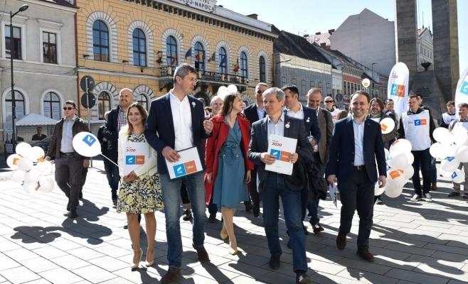 PLUS Cluj și-a ales conducerea județeană. Obiective mărețe propuse cu USR pentru următorul deceniu!