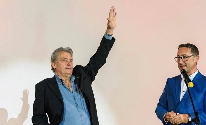 Alain Delon se recuperează după un AVC. La TIFF 2017, fusese premiat pentru întreaga carieră