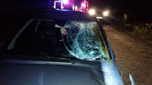 Accident cu victimă între o căruță și un autoturism la Luna de Jos
