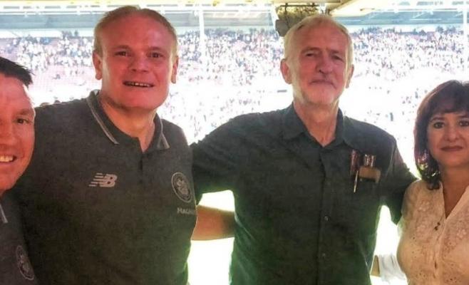 Liderul Opoziției britanice, în tribune la CFR Cluj-Celtic. Ce caută Corbyn în Transilvania?