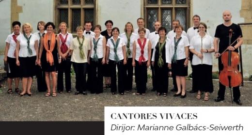 Cantores Vivaces revine la Cluj-Napoca pentru un concert aniversar cu lucrări corale în 9 limbi