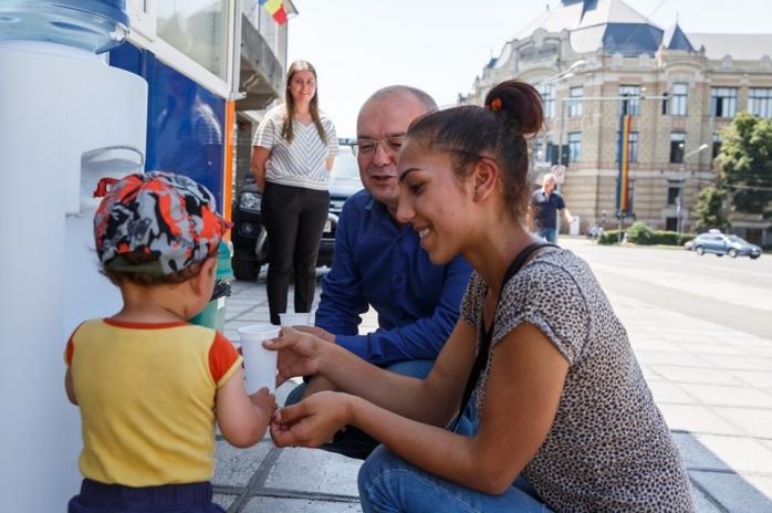 Apă gratuită de la Primărie, spații de refugiu și cișmele pentru clujeni în zilele toride de vară
