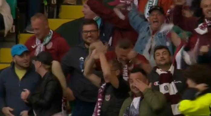 """EXISTĂ MIRACOLE! CFR Cluj, meci EROIC la Glasgow, """"feroviarii"""" sunt în play-off-ul Champions League"""