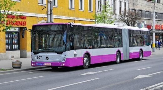 """Programul mijloacelor de transport în comun CTP în minivacanța de """"Sfânta Maria"""""""