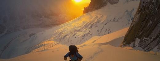"""Alpinistul clujean Vlad Căpușan, îngenuncheat de tragedia camaradului său: """"Inima îmi bate sufocată de tristețe, de ce Zsolt?"""""""
