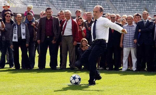 """Boc, fanul CFR-ului la duelul cu Slavia: """"De ce n-ar putea veni PSG, Bayern sau Ajax la Cluj?"""""""