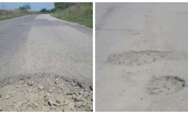 """Drumul județean """"distrugător de mașini"""", un coșmar pentru clujenii din Apahida și Cojocna!"""