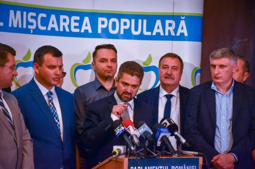 Theodor Paleologu va reprezenta Partidul Mișcarea Populară în cursa electorală pentru Palatul Cotroceni