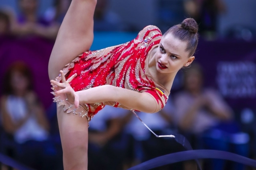 S-a scris istorie pentru gimnastica ritmică românească! Anul viitor, sportivele revin la Cluj-Napoca