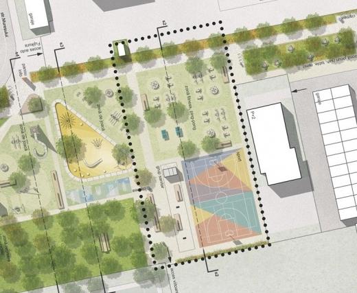Cum va fi împărțit și ce dotări va avea cel mai nou parc din Cluj-Napoca?