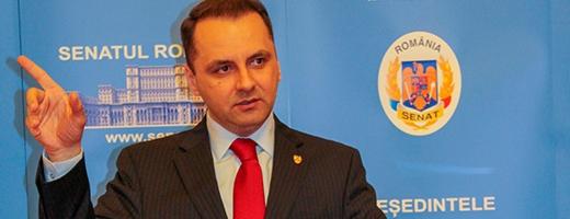 Senatorul clujean PMP Vasile Cristian Lungu