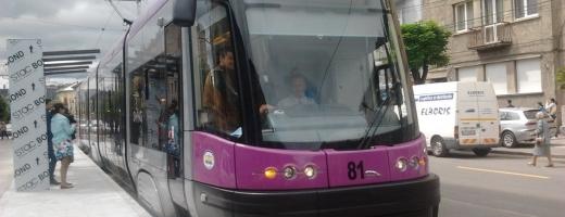 """Încurcă tramvaiele circulația clujenilor pe strada Oașului? """"Sugrumă traficul foarte tare!"""""""