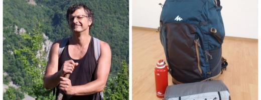 Și-a început aventura vieții! Zoli a pornit la drum în călătoria de 7.000 km până în Tibet