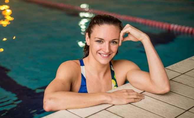 Campioana olimpică Hosszú Katinka va înota alături de clujeni la maratonul de o zi!
