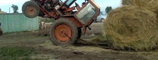 ACCIDENT MORTAL Tânăr decedat după ce un bărbat, amețit și cu permisul suspendat, s-a răsturnat cu tractorul la Poieni