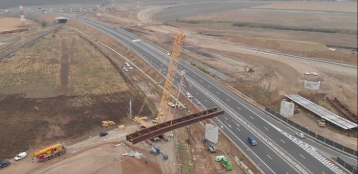 Lucrări intense la Sebeș, primii pași pentru a conecta autostrăzile A1 și A10 Sebeș-Turda