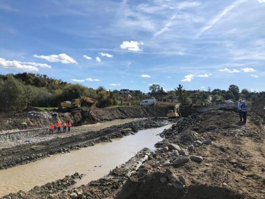 Șefii Apelor Române, în inspecție pe șantierele zonelor afectate de inundații în nordul Transilvaniei