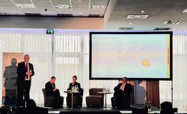 Dezvoltarea Aeroportului Cluj, subiect de discuție la conferința Smart Airports de la München
