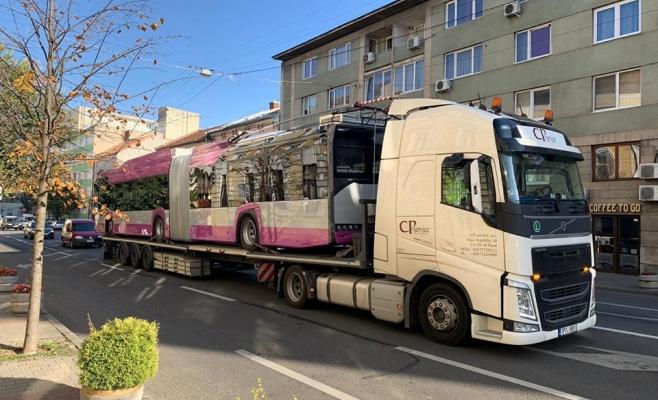Sosesc troleibuzele nou-nouțe la Cluj-Napoca!
