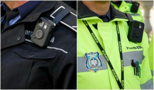 Cu cărțile pe față! 125 de camere video portabile pentru Poliția Locală Cluj-Napoca