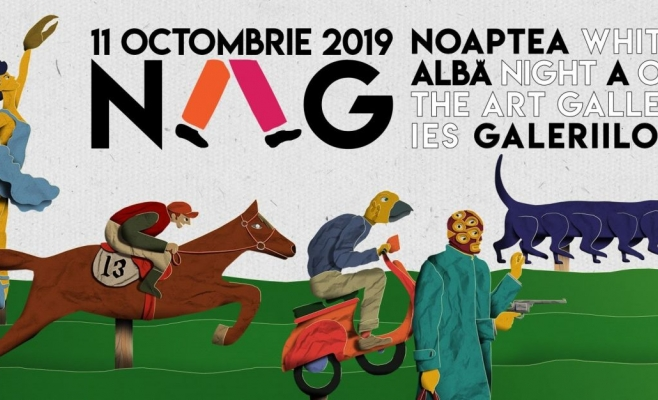 Noaptea Albă a Galeriilor. Întâlnire nocturnă cu arta contemporană, în 14 locații din Cluj-Napoca