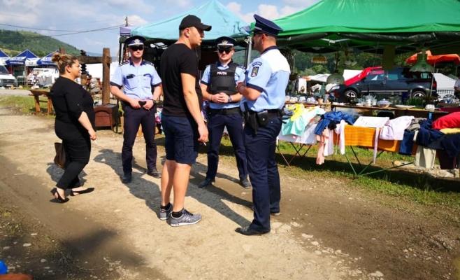 Pe unde ocolim? Recomandările polițiștilor pentru buna desfășurare a târgului de la Negreni