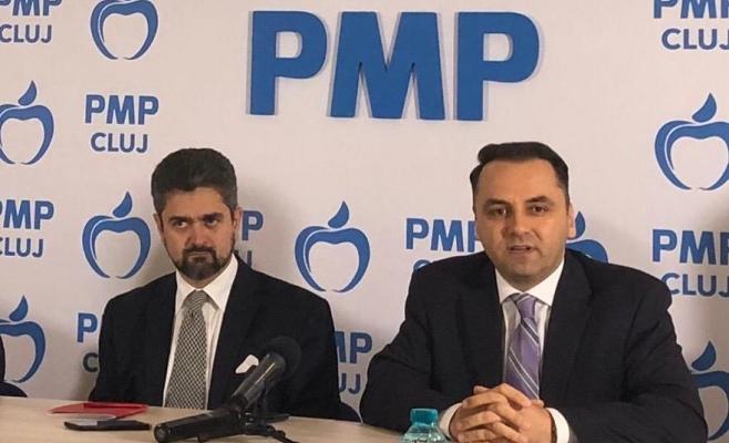 Theodor Paleologu (foto, în stânga, alături de senatorul clujean Vasile Cristian Lungu) va reprezenta Partidul Mișcarea Populară în cursa electorală pentru Palatul Cotroceni