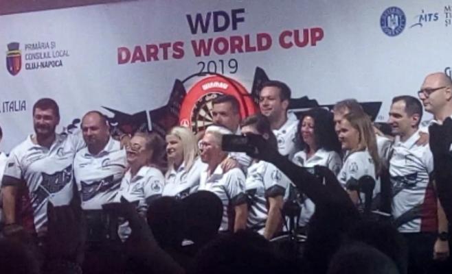 Darts-ul pune Cluj-Napoca pe harta lumii! Echipa României, ovaționată la scenă deschisă