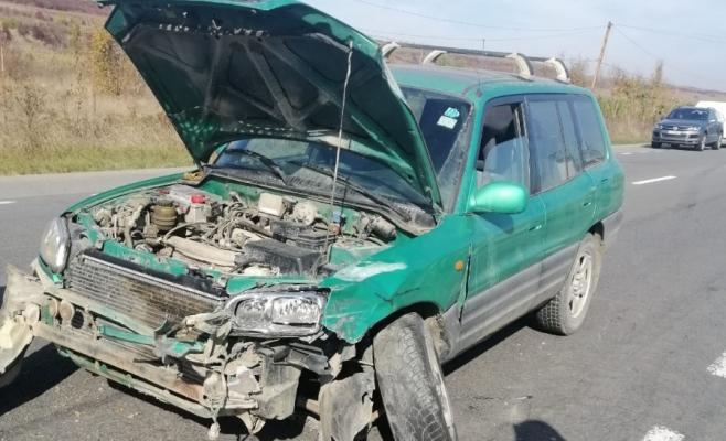 Sperietură zdravănă pentru o șoferiță la Bonțida! Un nou accident din cauza neatenției