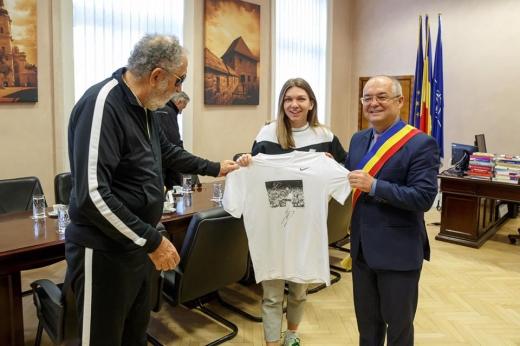 Simona Halep va primi titlul de cetățean de onoare al orașului Cluj-Napoca