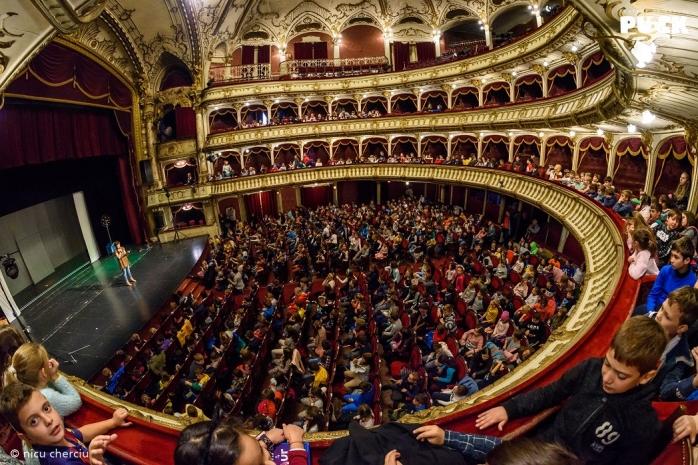 """6.000 de spectatori la Festivalul Internațional """"Puck"""" de la Cluj-Napoca, foto: Nicu Cherciu"""