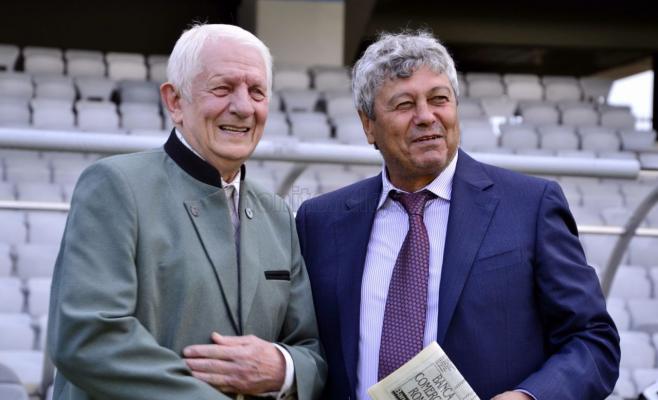 Remus Câmpeanu și Mircea Lucescu, două nume de legendă ale fotbalului românesc