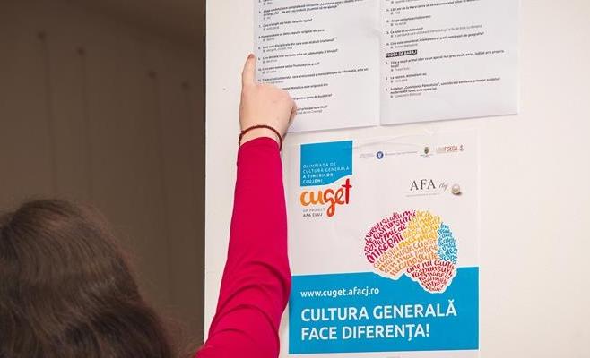 Peste 1.600 de elevi clujeni participă sâmbătă la semifinala Olimpiadei CuGeT, sursă foto: CuGet