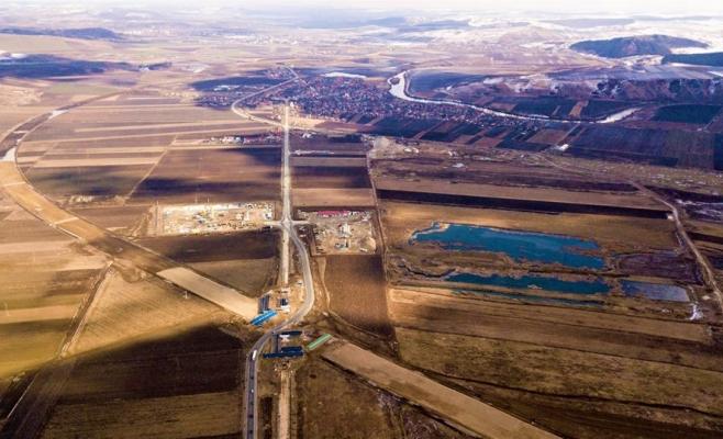 Proiectul Autostrăzii Nordului, care va trece și prin județul Cluj, scos la licitație, foto: Autostrada Transilvania