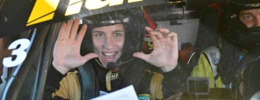 Handbalista clujeancă Cristina Laslo, de la linia de 9 metri, copilot la raliuri!, sursă foto: Sports Net