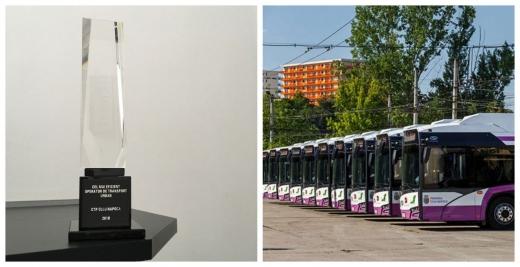 CTP Cluj-Napoca, cea mai performantă companie de transport public de persoane din țară