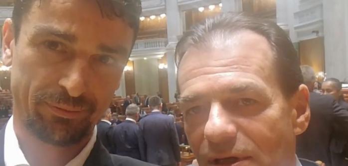 """Orban și Dohotaru, acord pentru legătura ciclistă dintre Cluj-Napoca și Florești. Noul premier: """"Un proiect inteligent, care va face bine clujenilor!"""", sursă foto: captură video Facebook Adrian Dohotaru"""